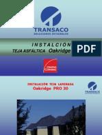 Instalacion Teja Asfaltica