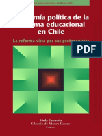 162634133 Viola Espinola Et Al Economia Politica de La Reforma Educacional en Chile 1999