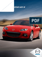 2013 Mazda MX5 Brochure Mx5