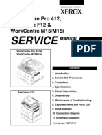 Work Centre M15 Service Manual