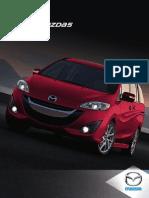 2013 Mazda 5 Brochure
