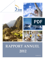 Rapport Annuel ABTO 2012
