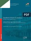 Outpout Potenziale, Gap e Inflazione in Italia Nel Lungo Periuodo (1861-2010)