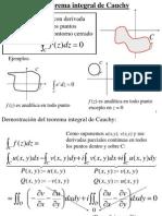 Intengracion de Cauchy Goursat