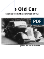 The Old Car Stories from the summer of '72