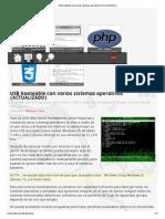 USB Booteable Con Varios Sistemas Operativos (ACTUALIZADO)