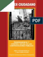 Transparencia y Control Social en Las Contrataciones Publicas