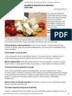 Super-alimente care scad pofta de mâncare şi accelerează arderea grăsimilor - Doctorul zilei — Doctorul zilei