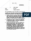 Ken Cole Memo to Chuck Colson on Campaign Spending