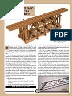 Building an On30 Black Bear Deck Bridge