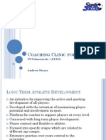 FUNdamentals (LTAD) - Coaching Clinic for Parents