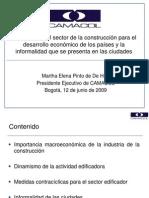 CAMACOL Importancia del sector de la construcción para el desarrollo economico