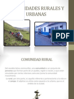 Zona Rural y Urbana Ecologia