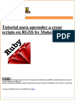 Manual Para Aprender RGSS by MakerJ
