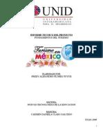Informe Tecnico Del Proyecto Turismo