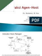 Interaksi Agen Host