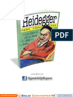 Heidegger Para Principiantes [Facebook.com-LeyendoEnLaHoguera]