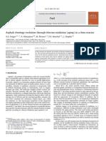 Asphalt Rheology Evolution Through Thermo-oxidation (Aging) in a Rheo-reactor 2008