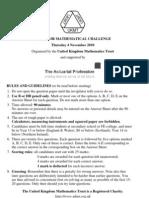 11043-UKMT Senior Mathematical Challenge