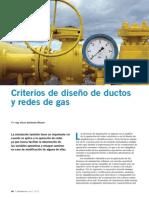 Criterios de diseño ductos de gas
