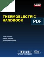Melcor - Thermoelectric Handbook