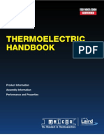 Melcor - Thermoelectric Handbook