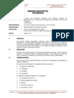 Informe de Levantamiento Topográfico - Ferreñafe