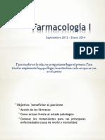 Farmacología I introducción