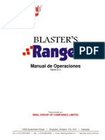 Spanish Blasters Ranger Ops Manual Ed 2-1-0