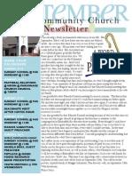 Newsletter Sept 13