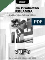 Catalogo Productos Prolamsa