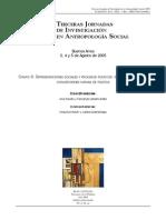 Balbi, producción social de autonomía moral relativa de la política, IIIJIAS, 2005
