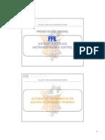 Instrumentacion, Lubricacion y Perametros de Operacion