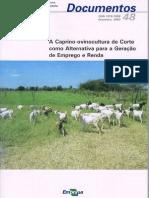 A caprino-ovinocultura de corte como alternativa para a geração de emprego e renda.