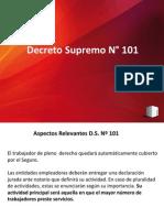 D.S. 110 características principales