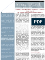 [Building a Powerful Church to Thrive in a Time of Crisis] 05 – The Apostolic