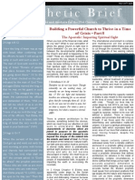 [Building a Powerful Church to Thrive in a Time of Crisis] 08 – The Apostolic