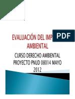 Estudio de Imapcto Ambiental