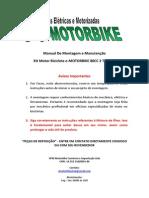 Manual de Montagem Oficial E-motorbike