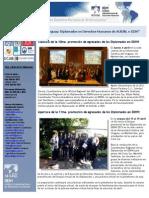 Diplomados en DDHH de AUSJAL - Uruguay