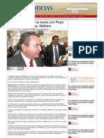 13-09-2013 'Vamos a ir muy de la mano con Pepe Elías y con Reynosa' Melhem