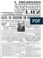 Luz (Madrid. 1932). 27-4-1934