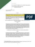 Subjetividad y Clínica (bedoya, 2010)