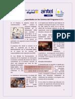 Programa USI - Acerca de la Generación de Capacidades