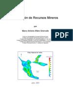 Estimación de Recursos Mineros