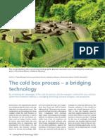ARTIGO The cold box process – a bridging