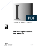 8712800 SAS Performing Interactive SQL Queries