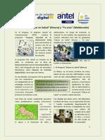 """Programa USI - Proyectos """"Educar en Salud"""" (Rivera) y """"Tu Eres"""" (Maldonado)"""