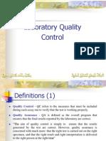 Laboratory Quality Control