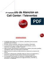 6 Protocolo de Atencion en Call Center - Televentas